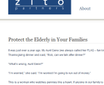 Protect the Elderly Blog