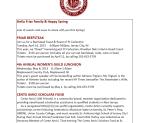 2013 Spring Friar Scrip Newsletter