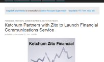 Ketchum Partners with Zito to Launch Financial Communications Service