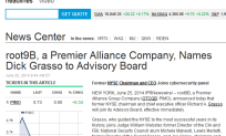 Dick Grasso joins Premier Alliance Advisory Board