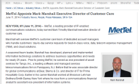 MetTel Appoints Mark Marshall