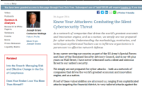 Know Your Attackers - Combating the Silent Cybersecurity Threat