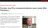 NJBiz-Bob DeFillippo Joins ZP