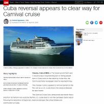Carnival effects change in Cuba