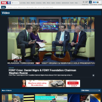 Commissioner Nigro and Steve Ruzow on Fox5