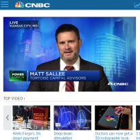 Tortoise Capital Advisors on CNBC
