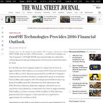 root9B on WSJ