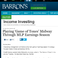 Tortoise in Barron's