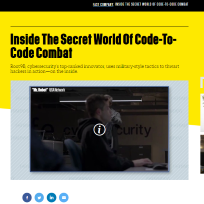Inside The Secret World Of Code-To-Code Combat
