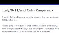 Italy 9-11 Colin Kaepernick