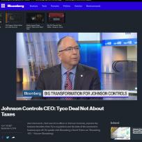 JCI on Bloomberg