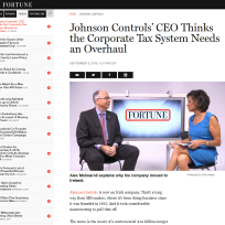 Johnson Controls visits Fortune