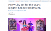 Party City set for Halloween