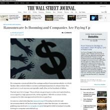 Beazley in Wall Street Journal