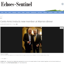 Cento Amici inducts new member