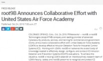 root9B Announces Collaborative Effort with United States Air Force Academy