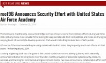 root9B Announces Security Effort with United States Air Force Academy