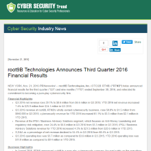 root9B Technologies in Cyber Security Trend