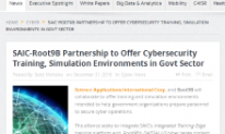 SAIC-Root9B Partnership to Offer Cybersecurity Training