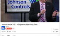 Johnson Controls CEO Looking Ahead on Mad Money