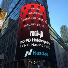 root9B Holdings rings the Nasdaq Opening Bell on January 19