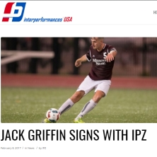 Jack Griffin Signs With IPZ