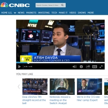 Atish Davda on CNBC