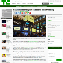 Atish in TechCrunch
