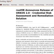 root9B in Seeking Alpha
