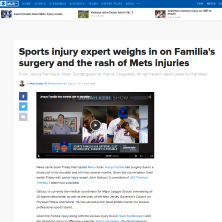Gallucci talks about the Mets to CBS Sports