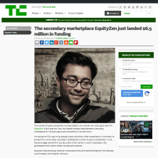 EquityZen in TechCrunch