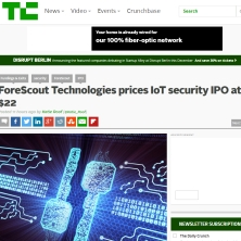 TechCrunch ForeScout