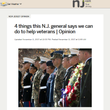 4 things this NJ general says we can do to help veterans
