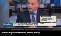 Thummel Says Global Demand for Oil Is Strong