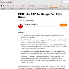 rise etf seeking alpha