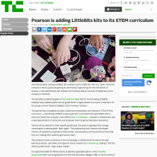 littleBits and Pearson Partnership Expand STEM Curriculum