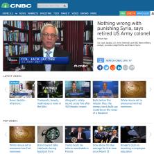 Col Jacobs on Syria strikes