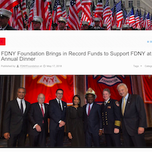 FDNY Foundation Brings in Record Funds to Support FDNY at Annual Dinner