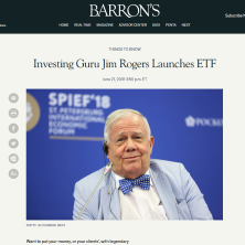 Jim Rogers BIKR Launches