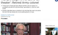 Col Jacobs on POTUS and NATO