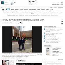 Jack Morris & Joe Jingoli on Revitalizing Atlantic City in the Press of AC