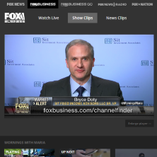 Bryce Doty on Fox Business this morning