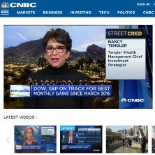 Nancy on CNBC today