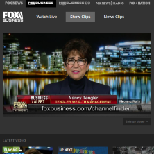 Nancy on FBN this morning