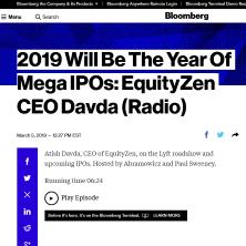 equityzen on bloomberg radio