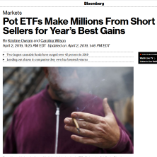 ETFMG in Bloomberg