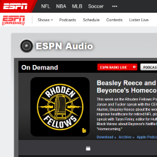 beasley reece on espn podcast