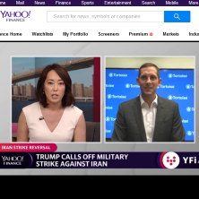 Nick Holmes on Yahoo Finance