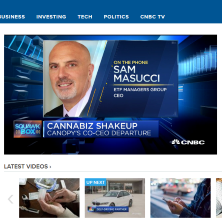 Sam Masucci on CNBC Squawk Box