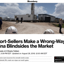 ROB QUOTED IN BLOOMBERG